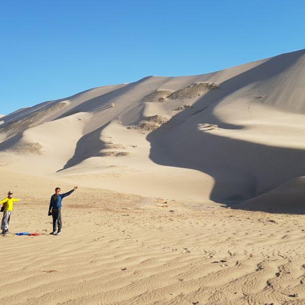 2019 Climbing Khongor Sand Dunes