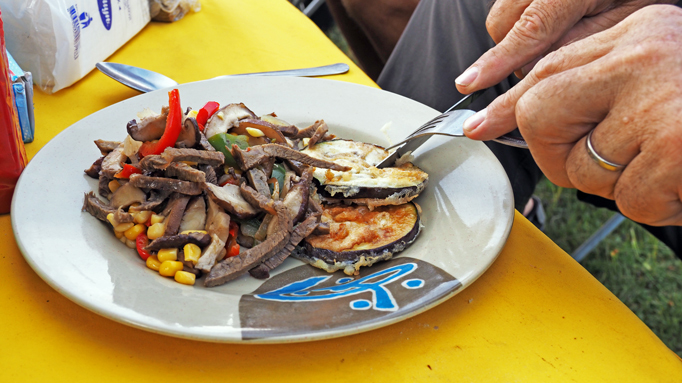 Food on Mongolia tour