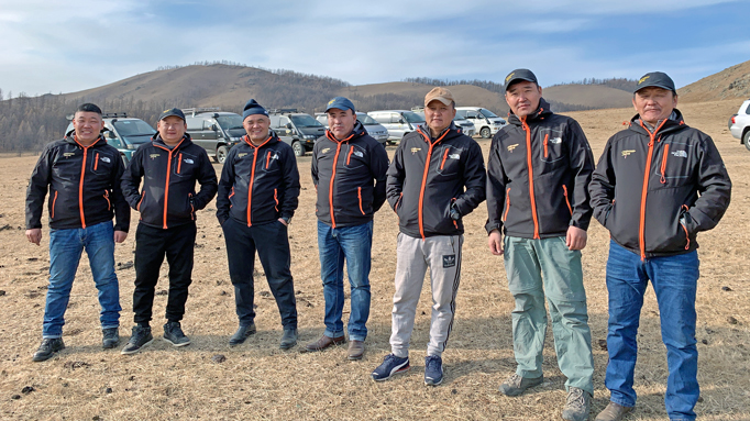 Drivers for Mongolia tours