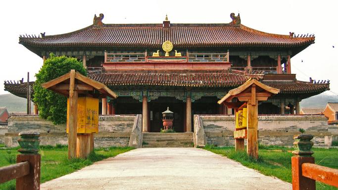 Amarbaysgalant monastery, Northern Mongolia