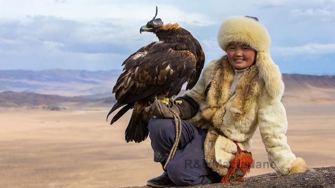 Aisholpan, the eagle huntress, Western Mongolia