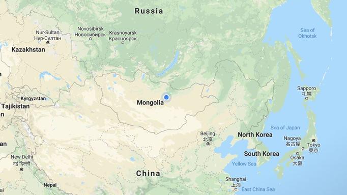 Mongolia location