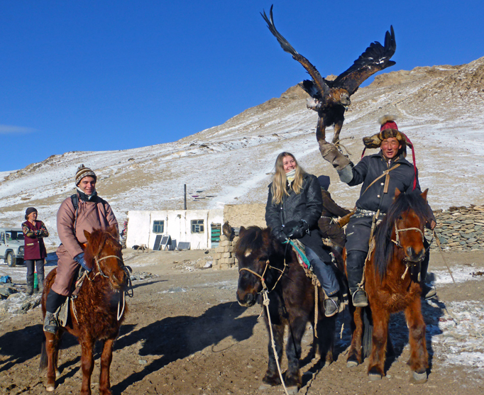 Hunting with Golden Eagle, Western Mongolia