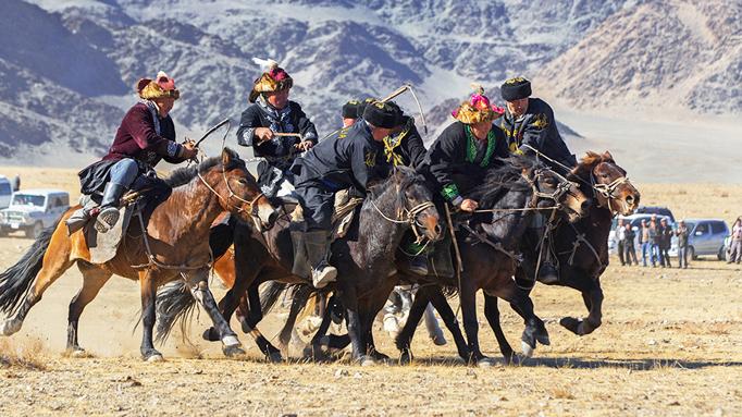 October Eagle Festival, Western Mongolia