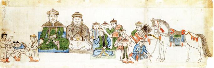 History of Mongolian wrestling