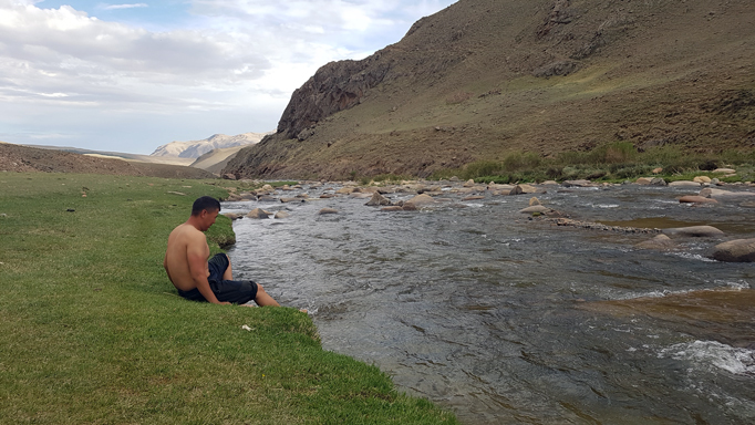 Shiver river, Western Mongolia