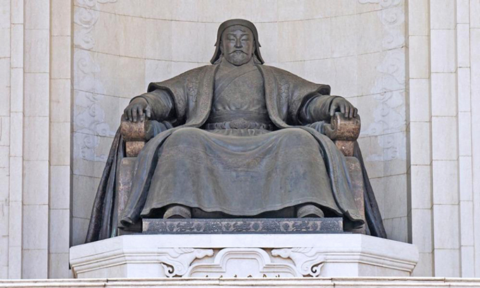 Chingis Khan statue, Ulaanbaatar, Mongolia