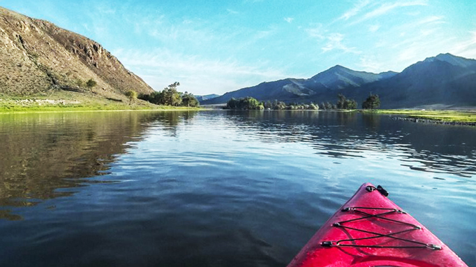 Kayaking in the Five rivers, Northern Mongolia