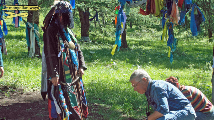 Meeting a Mongolian shaman