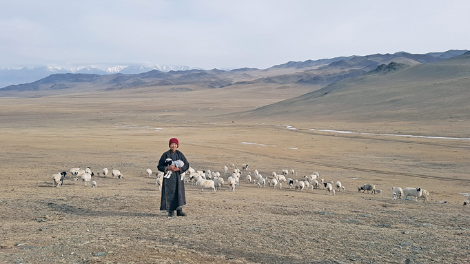 Spring in Mongolia
