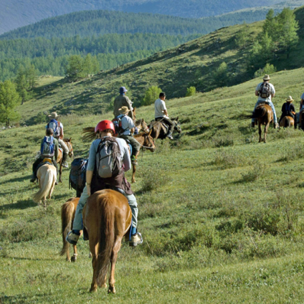 Mongolia Horse Riding Tour