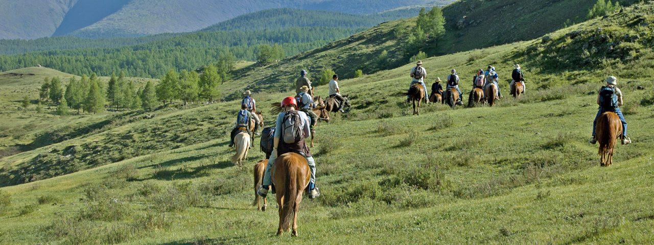 Mongolia Horse Riding Tour