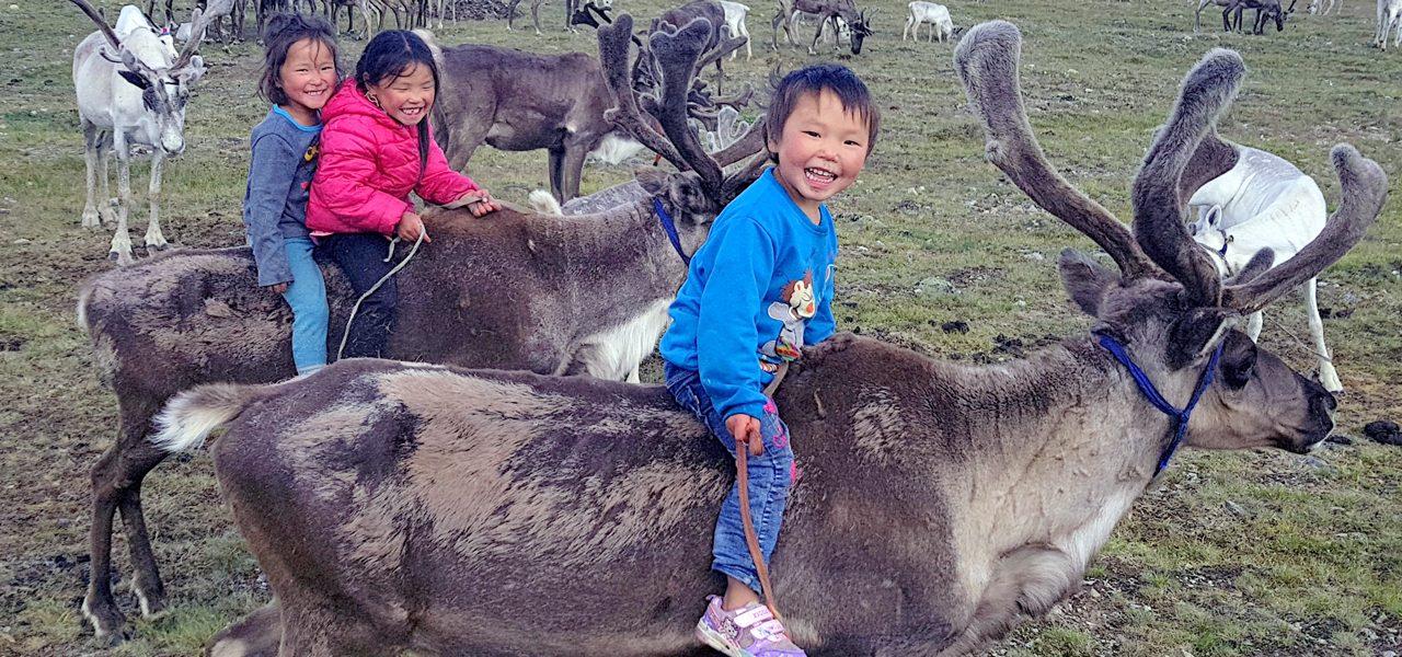 Tsaatan/Dukha, Mongolia Reindeer People, Tour