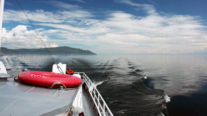Cruising Baikal