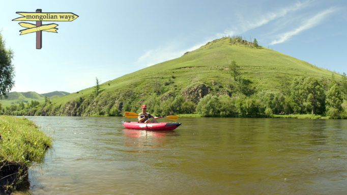 Kayaking in the Five Rivers