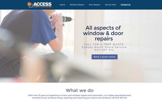Access Window and Door Repairs