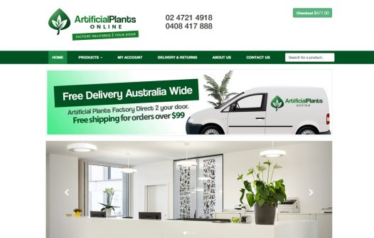 Artificial Plants Online