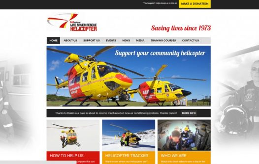 Westpac Lifesaver Helicopter