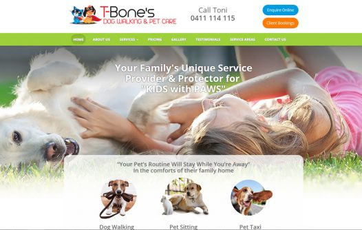 TBones Dog Walking & Pet Care