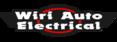 Brand size wiri auto electrical logo