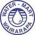 Brand size water mart logo