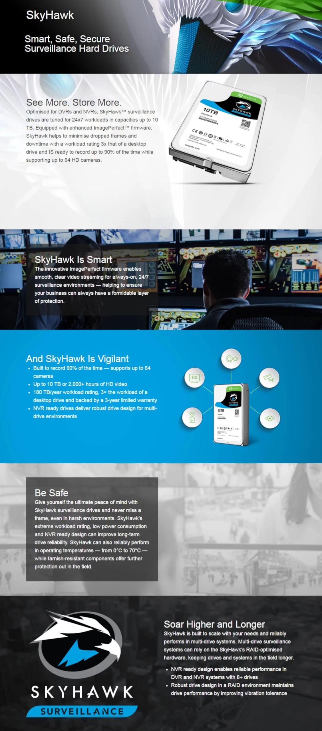 Seagate SkyHawk Surveillance 3 5