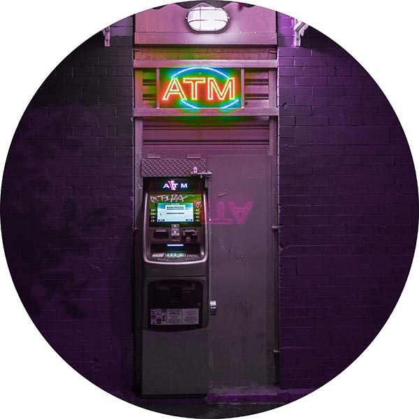 ATM easy access to cash