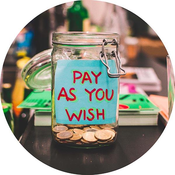 wishing tip jar