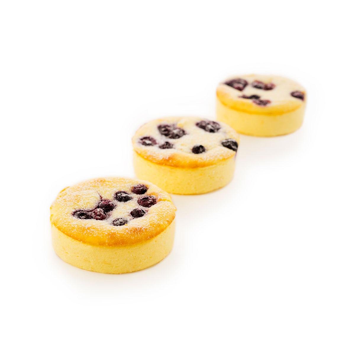 Blueberry Vanilla Cheesecake