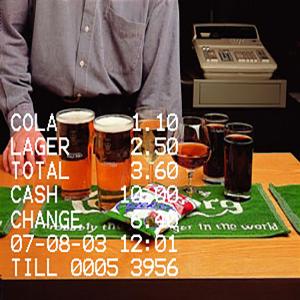 Cash Register Overlay