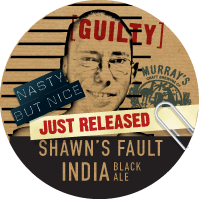 Shawn's Fault India Black Ale