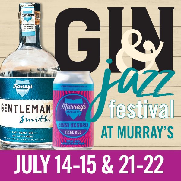 FIRST 'GIN AND JAZZ' FESTIVAL IN JULY