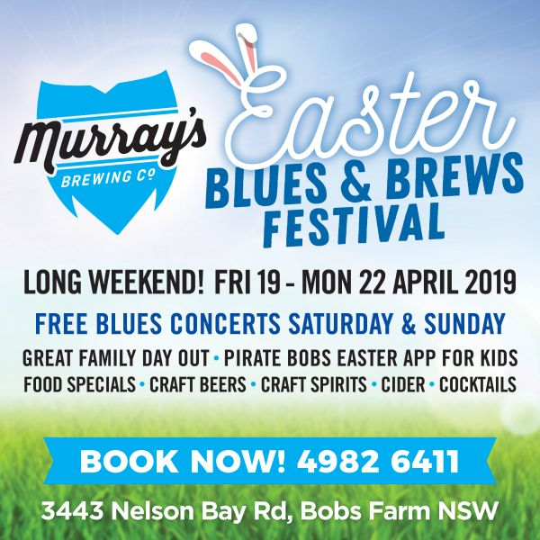 Easter Blues & Brews at Murray's Brewery 2019