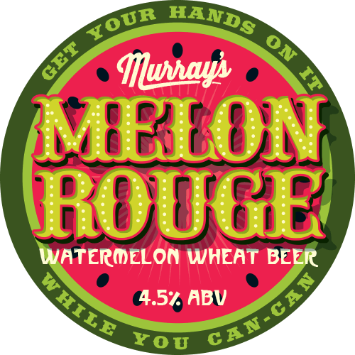 Melon Rouge Watermelon Wheat Beer