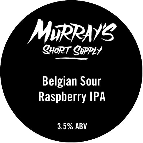 Belgian Sour Raspberry IPA