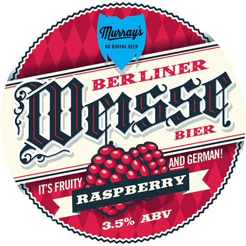 Raspberry Berliner Weisse