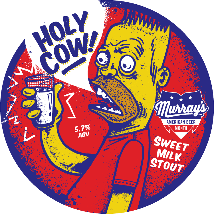 Holy Cow! Sweet Milk Stout