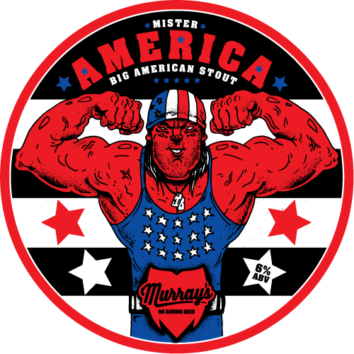 Mister America Big American Stout