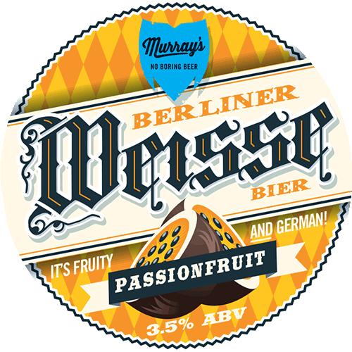 Passionfruit Berliner Weisse