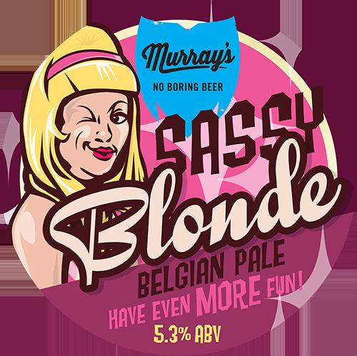 Sassy Blonde Belgian Pale