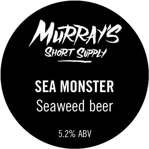 Sea Monster Seaweed Beer