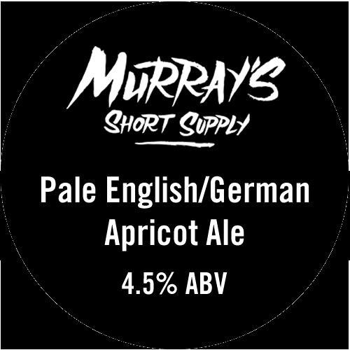 Pale English/German Apricot Ale