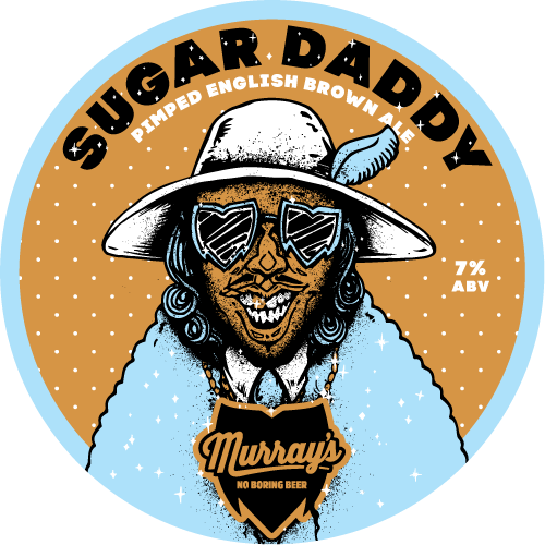 Sugar Daddy Pimped English Brown Ale