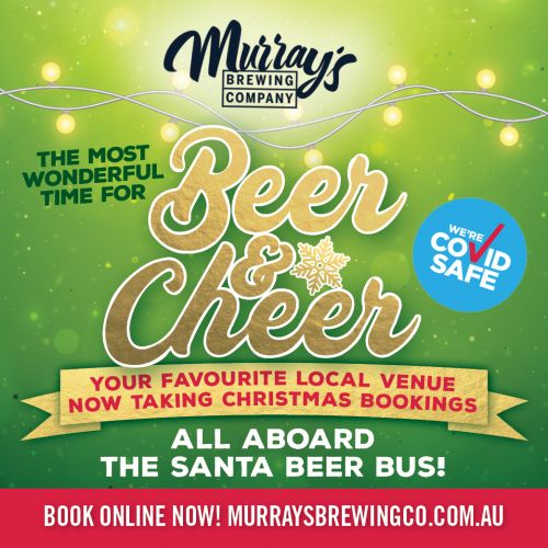 Christmas Parties at Murray's Brewery