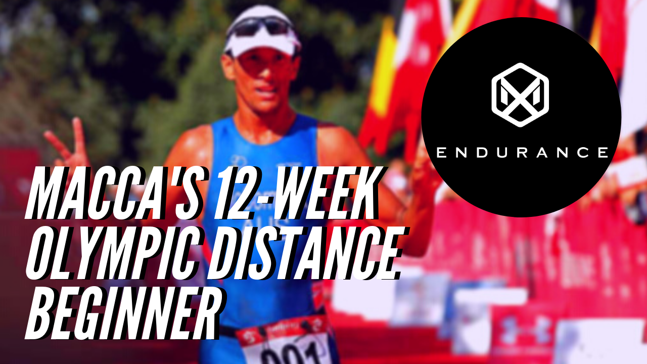 1066 Macca's 12-Week Olympic Distance - Beginner