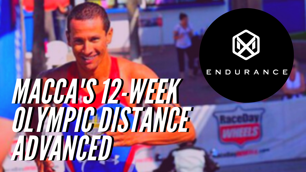 756 Macca's 12 Week Olympic Distance - Advanced