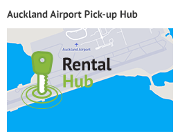 Auckland Airport Hub for Car Rental