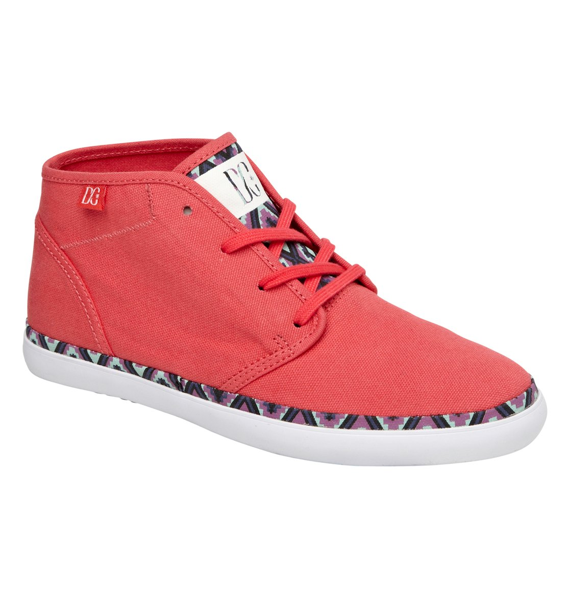 DC SHOES WOMENS STUDIO MID LTZ CASUAL SNEAKERS