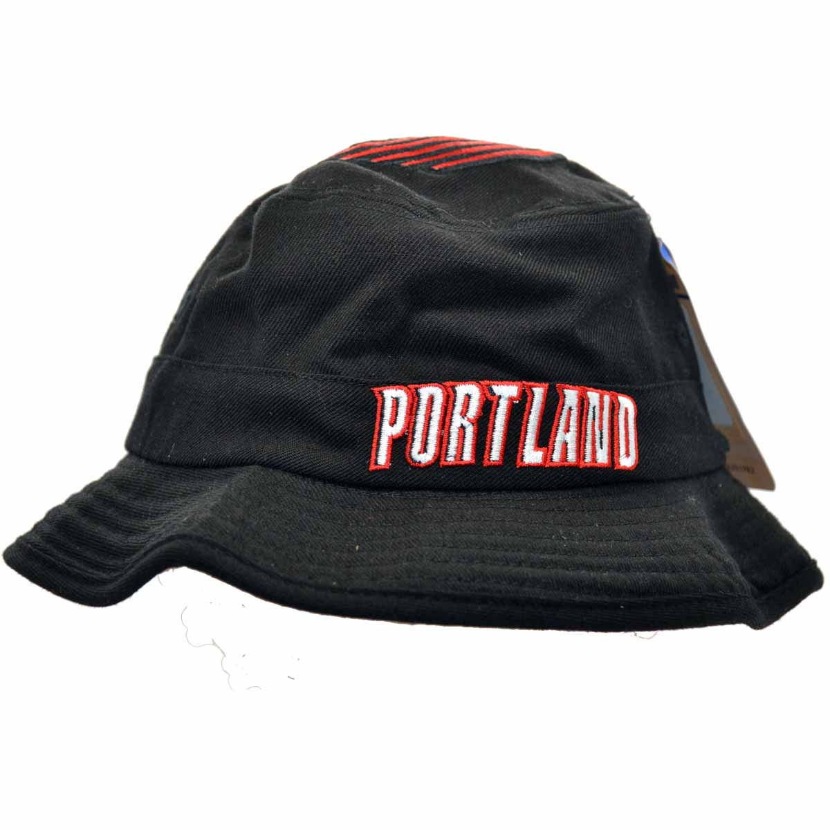 Details about Portland Trailblazers Adidas NBA Fashion Bucket Hat 0da061475c6