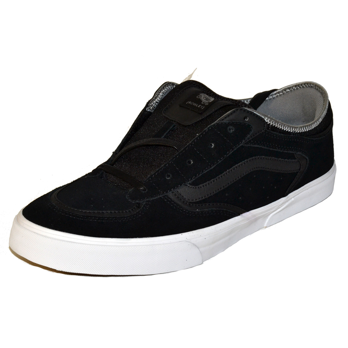 257db612abd Vans Rowley Pro Black Mens Shoes - MyCraze